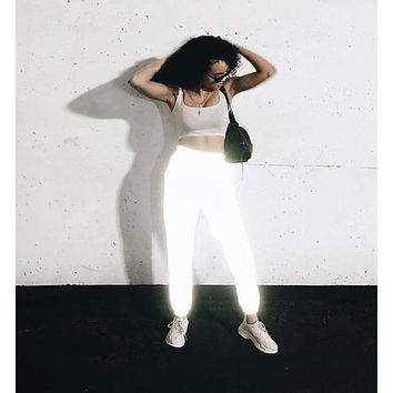 3M Reflective High Waisted Joggers