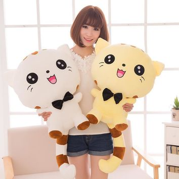 20CM Cute Large Size Cat Plush Stuffed Toys Pillow Birthday Gift Cushion Fortune Cat Doll Pusheen Kawaii Plush Toys
