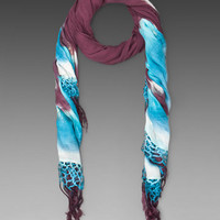 Gypsy 05 Bianca Scarf in Burgundy from REVOLVEclothing.com