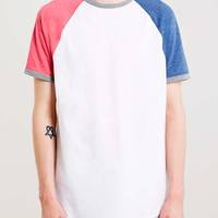 Mixed Colours Raglan T-Shirt - Men's T-shirts & Tanks - Clothing