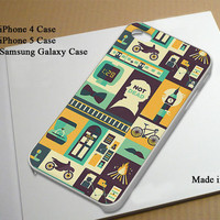 Sherlock Collage Best Seller Phone Case on Etsy for iPhone 4, iPhone 4s, iPhone 5 , Samsung Galaxy s3 and Samsung Galaxy s4