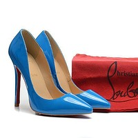 CL Christian Louboutin Fashion Heels Shoes-6