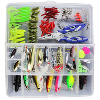 101 PCS Fishing Lures With Set with Box