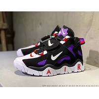 Nike Air Barrage Mid Fashion Men Women Sport Running Basketball Shoes Sneakers