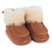 Gage Suede & Sheepskin Booties
