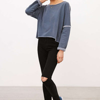 Silence + Noise Dani Pullover Sweatshirt - Urban Outfitters