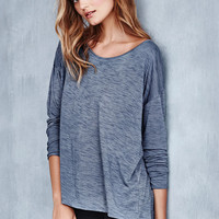 Space Dye Off-the-shoulder Tee - Trend Tees - Victoria's Secret