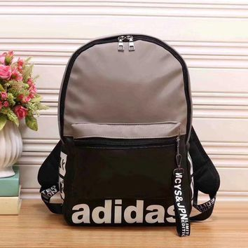 Adidas New Fashion Women Leather Bookbag Shoulder Bag Handbag Backpack