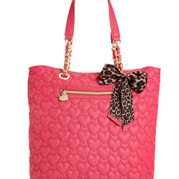 Betsey Johnson Handbag, Quilted Tote