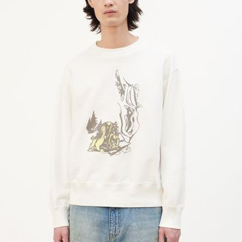 Our Legacy Psychedelic Hunt Patch Sweater