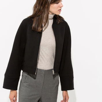 Women's Cashmere Bomber | Kemble Bomber | Kit and Ace