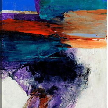 Landscape Translation I Abstract Canvas Wall Art Print