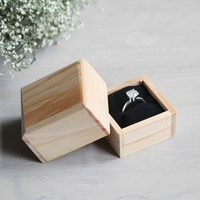 Add on: Wooden Ring Gift Box