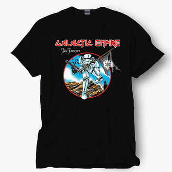Galatic the trooper shirt, Starbucks shirt, Hot product on USA, Funny Shirt, Colour Black White Gray Blue Red