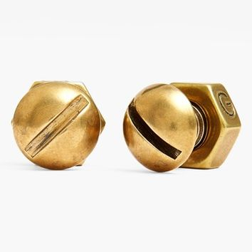 Men's Giles & Brother Nut & Bolt Cuff Links