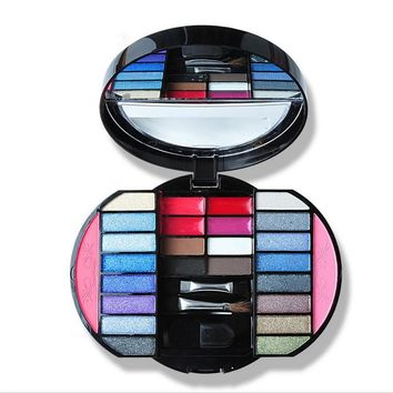 16 Colors Earth Tone Shimmer Matte Pigment Glitter Eyeshadow Palette Magnetic Design Metallic Eye Shadow Palette Makeup