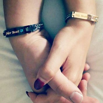 Couple Bracelets with Gift Box