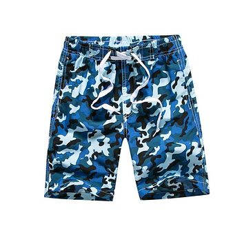 Hot Shorts Kindstraum Boys  Summer Quick Dry Swim Trunks Boys Camouflage Beach  Children's Surf Pants MC695AT_43_3