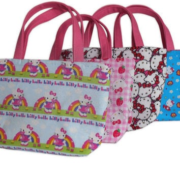 Hello Kitty Kids Bag Party Pack // Kids Purse Set of 4
