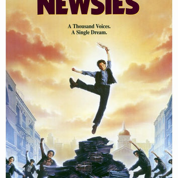 Newsies 27x40 Movie Poster (1992)