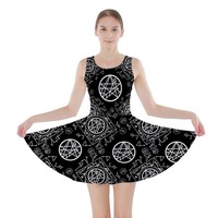 Necronomicon Skater Dress XS-3XL