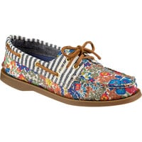 Sperry Top-Sider A/O 2-Eye Liberty Shoe - Women's Bright Blue,