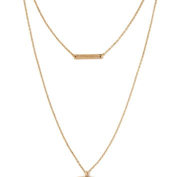 Faux Stone Necklace | Forever 21 - 1000185884