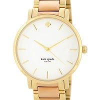 kate spade new york | women's gramercy grand two-tone watch | Nordstrom Rack