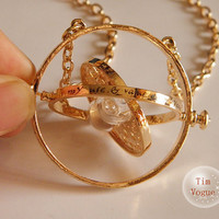 Harry Potter TIME TURNER necklace Hermione Granger 18k by TimVogue