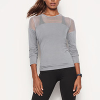 Mesh Long-sleeve Tee - Victoria Sport - Victoria's Secret