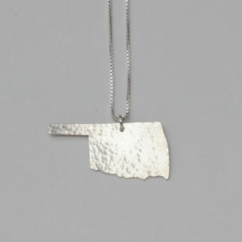 Oklahoma State Necklace