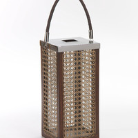 Square Lantern with Caning