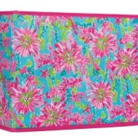 Lilly Pulitzer - Lg. Organizational Bin - Trippin' and Sippin'