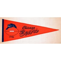 Chicago Bears NFL Throwback Pennant (13x32)