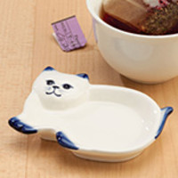 Cat Tea Bag Holder
