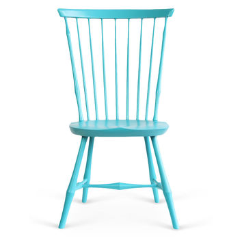Wayland Side Chair, Cyan, Side Chairs