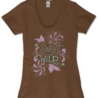 NEW! Sweet and Wild Scoop T-Shirt