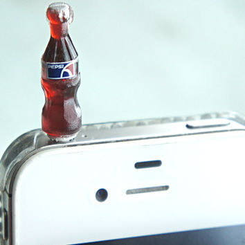 Pepsi Bottle Phone Plug