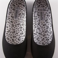 Canvas Ballet Flats - Black from Casual & Day at Lucky 21 Lucky 21