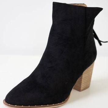 Sidney Booties - Black