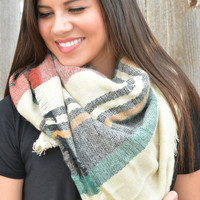 Keep It Cozy Blanket Scarf