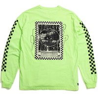 Destination Unknown Longsleeve T-Shirt Neon Yellow