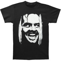 The Shining Men's  Here's Johnny T-shirt Black Rockabilia