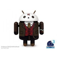 Android Mini Series 3 Professor Skully Mcrivethead by Huck Geel 1/16 Figure