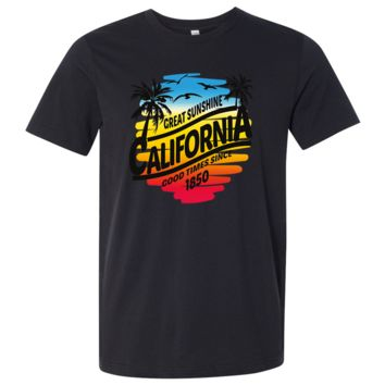 California Good Times Asst Colors Mens Lightweight Fitted T-Shirt/tee