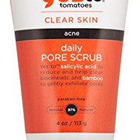 Yes To Tomatoes Clear Skin Deep Pore Scrub, 4 Ounce