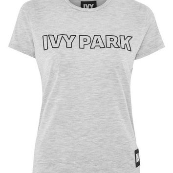 Silicon Logo Crew Neck T-Shirt by Ivy Park - T-Shirts - Clothing