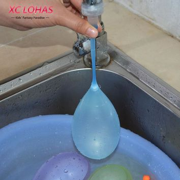 100 pcs Magic Water Balloons Summer Party Supplies Cool Water Balloons Bombs  Beach Toys Funny Kids Games Fast Shipping
