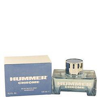 Hummer Chrome Eau De Toilette Spray By Hummer