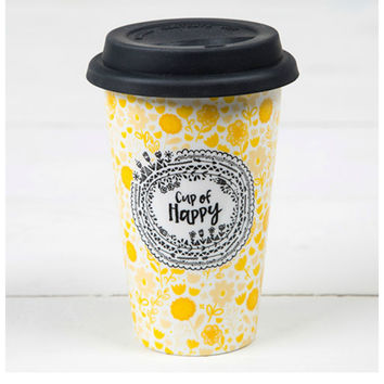 Natural Life Thermal Mug - Cup Of Happy